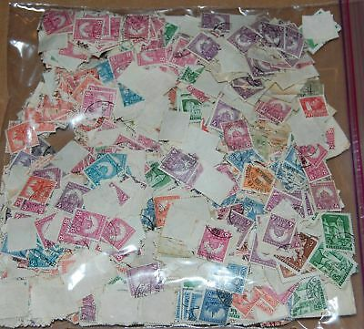 Hungary old off paper mix - great for cancels! 250+ grams