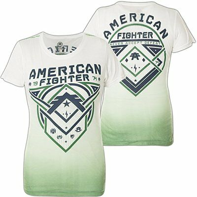 AMERICAN FIGHTER Womens T-Shirt ROOSEVELT Athletic Biker Gym UFC $40