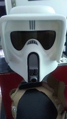 Star Wars Scout Trooper Deluxe Collector Helmet 1:1 Scale