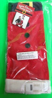 Santa Apron From 2008/still In Orig Pkg In New Condition!