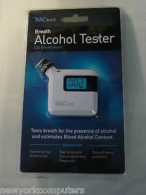 BACtrack Breath Alcohol Tester S35 Breathalyzer NEW