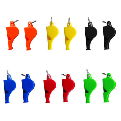 2pcs Safety Whistle for Emergency Survival Boating Kayaking Camping Rescue