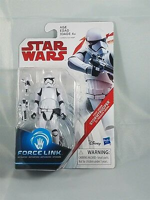 Star Wars First Order Stormtrooper Force Link activated NIP