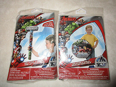Avengers Inflatable Mallet & Shield New