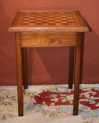 Vintage Wooden Chess Games Table - collection from Weymouth