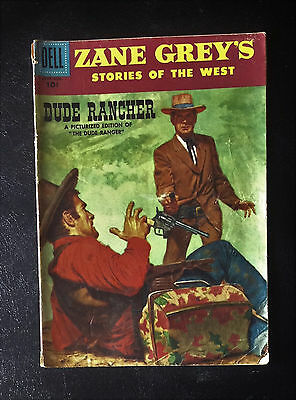 Zane Grey's Stories of the West #30 1956 Dell