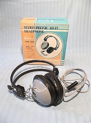 Vintage EMPIRE stereo headphones made in JAPAN model SDH-7 with original box