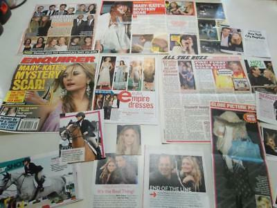 Mary Kate & Ashley Olsen big lot of  clippings  #BZ12