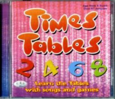 NEW Times Tables Audio CD Free Shipping