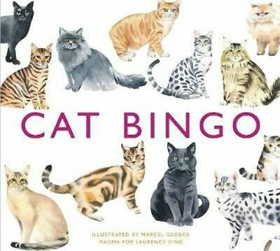 NEW Cat Bingo By Marcel George Toy or Toy Pack Free Shipping