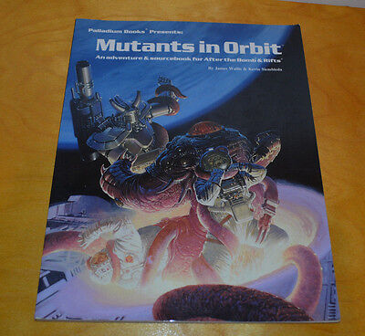 Rifts Mutants In Orbit Rpg Sourcebook Palladium After The Bomb 1992 Role Playing