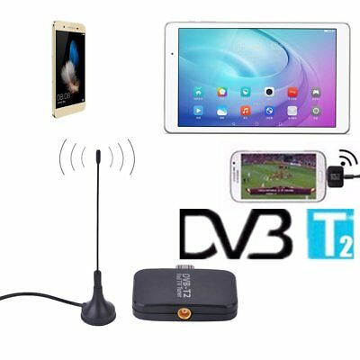 DVB-T2 Empfänger Micro USB Tuner TV Receiver Stick For Android OS 4.1 TabletGF