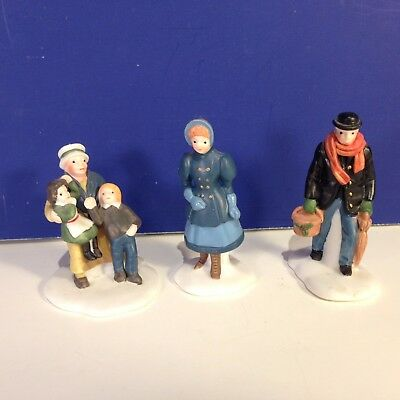 Dept 56 Dickens Village DAVID COPPERFIELD CHARACTERS Set of 3 w/ box