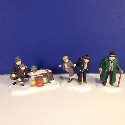 Dept 56 Dickens Village OLIVER TWIST CHARACTERS Set of 3 w/ box