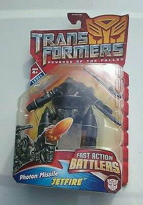 2008 Hasbro Transformers Revenge of the Fallen Jetfire Fast Action Battlers NIP