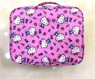 Hello Kitty Hot Pink Travel Make Up Wash Bag KK930