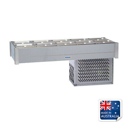 Bain Marie / Cold Food Bar Empty No Pans Fits 10x 1/2 Pans Roband Chilled Bar