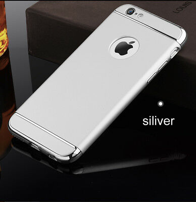 4.7inch silver case hard for iPhone 6 6s back 360 full cover 64gb luxury fundas