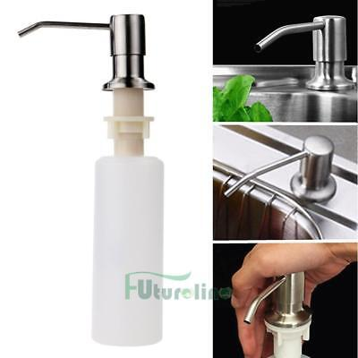 350ML Soap Dispenser Kitchen Sink Faucet Bathroom Shower Lotion Shampoo Pump