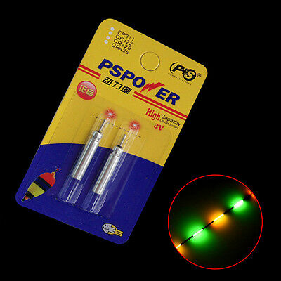 20pcs Electronic Fishing Float Battery CR425 CR322 CR435 CR311 for Night fishing