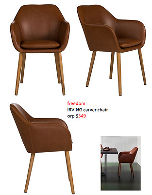 freedom IRVING carver chair orp $349