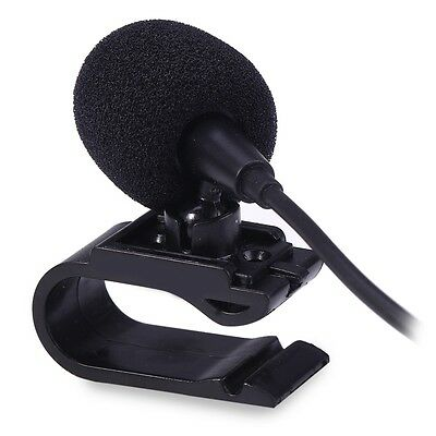 3.5mm Hand Free External Mic Portable Microphone for Car DVD Radio Stereo Player