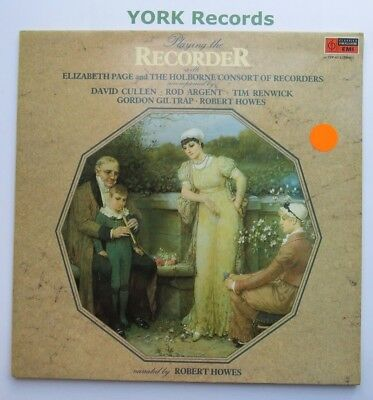 CFP 4513 - PLAYING THE RECORDER - Elizabeth Page - Excellent Condition LP Record