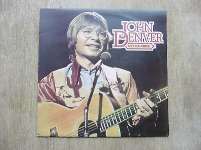 "John Denver - Live In London 1976 12"" vinyl LP"