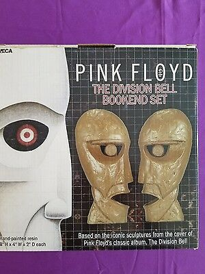 """Pink  Floyd  """"the  Division  Bell""""  Bookend  Statues"""