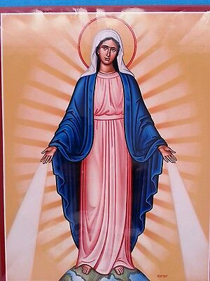 Our  Lady  Of  Grace           Icon     11 X 14