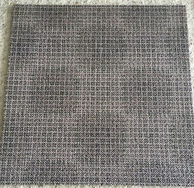 100s of High Quality Light Grey Milliken Patterned Carpet Tiles