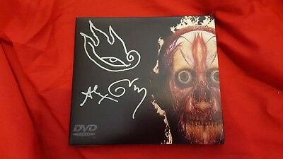 Tool parabola dvd signed by the artist Alex Grey