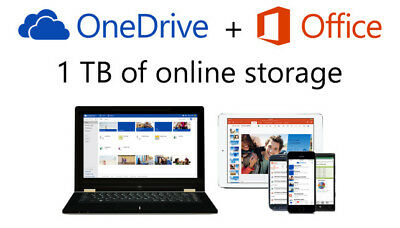 One Drive Storage LIFETIME 1TB With Office 365