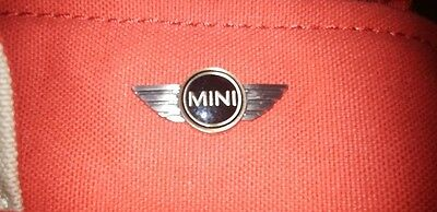 mini cooper ladies bag tasche sand red chili colour