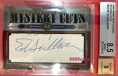 """2008 Ud Mystery Cuts Auto: Ed Sullivan #1/1 Of One Autograph """"23 Years Show"""""""