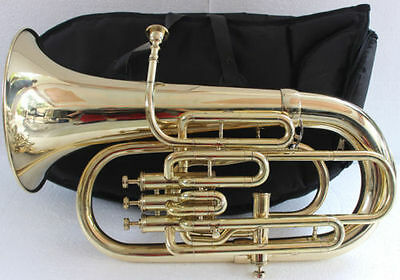 "Euphonium Bb/f 4 Valve_Brass_Finish""w/case&mp_Great_Sound Tuba Ebay Musicals."
