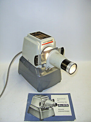 Vintage Aldis Projector - Working