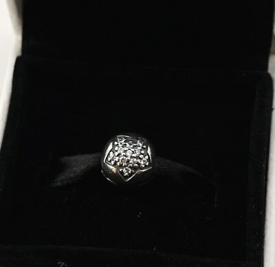 NEW Authentic PANDORA Charm Sterling Silver You're A Star Clip Charm 791056CZ