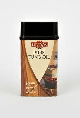 Liberon Pure Tung Oil/Food Safe/Worktop/Finish/Wood Care *PICK SIZE* NEXT DAY