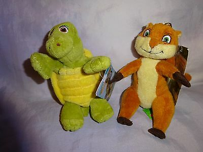 Over the hedge Verne and Hammy keyrings.
