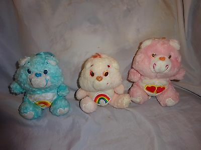 Vintage care bear soft toys.1983 editions.
