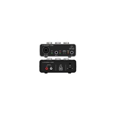 Behringer Um2 - Interfaccia Audio 2X2 Usb Con Preamp Microfonico-Scheda Audio