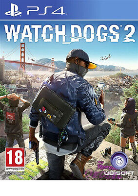 Watch Dogs 2 Ps4 Brand New Fast Delivery!