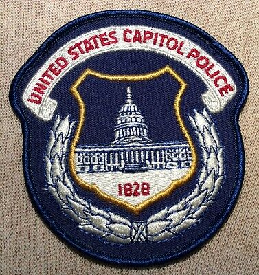 US United States Capitol Police Patch