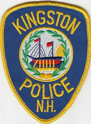 Kingston Police Shoulder Patch New Hampshire Nh