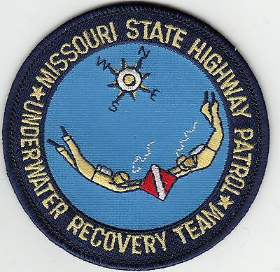 Missouri State Highway Patrol Underwater Recovery Team Mo Police Patch