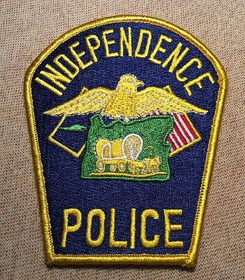OR Independence Oregon Police Patch