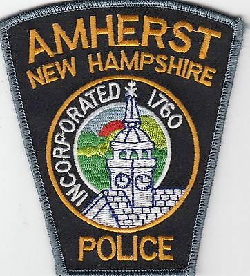 Amherst New Hampshire Police Shoulder Patch Nh