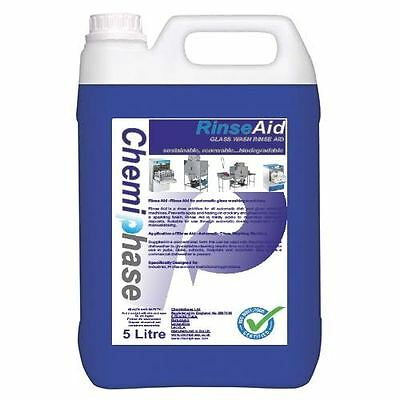5 Litres of Rinse Aid for Glasswash Machines - Next Day Delivery
