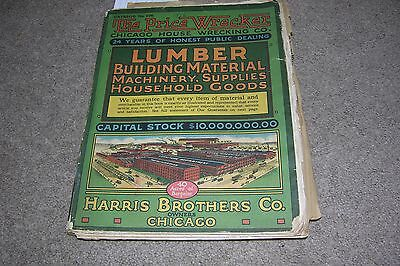 1916 Harris Bro. Chicago Price Wrecker Lumber Machinery Household 500+ Pages